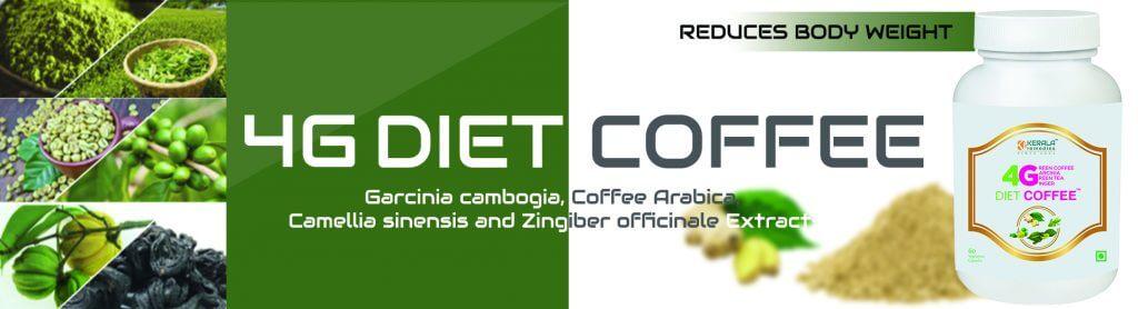 4G Diet Coffee banner